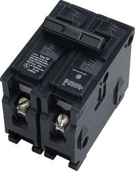 "Interchangeable 2"" 2-Pole 15-Amp Clamshell Packaged Circuit Breaker"