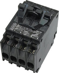 Siemens Type QT Quad-Plex Circuit Breaker w/Two Individual One Common Trip 2-Pole Breakers (Class CTL 2P20A/2P20A)