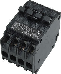 Siemens Tri-Plex Circuit Breaker Type QT w/Two Individual 1-Pole and One Common Trip 2-Pole (Class CTL, 20A/20A/2P40A)