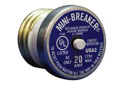 20-Amp Mini-Breaker Circuit Protector