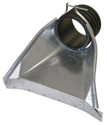 """15"""" HDPE Apron; End Section"""
