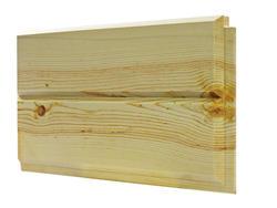 1x8-8' Prefinished End-Matched Pine Carsiding - 4 pcs (17.56 sq ft/pkg)