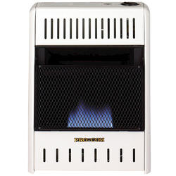 10,000 BTU Vent-Free Blue Flame Gas Wall Space Heater