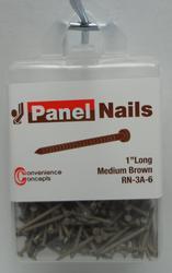 Convenience Concepts Medium Brown Panel Nail
