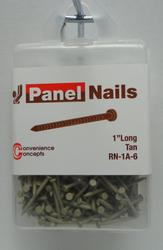 Convenience Concepts Tan Panel Nail