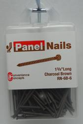 Convenience Concepts Dark Brown Panel Nail