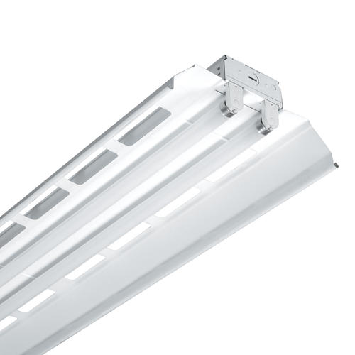 Metalux® 8' White 4-Lamp Tandem T8 Fluorescent Shoplight