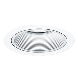 """All-Pro 4"""" White 12-Volt 1-Lamp  Trim with White Baffle"""