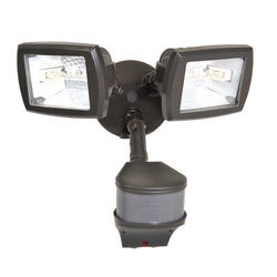 "Cooper Lighting 6"" 2-Lamp 270° Dual Head Doppler Motion-Activated Light"