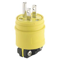 Watertight Plug Straight Blade 15A 125V