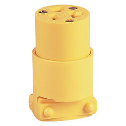 Connector Straight Blade 20A, 125V