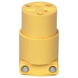 Connector Straight Blade 20A, 250V