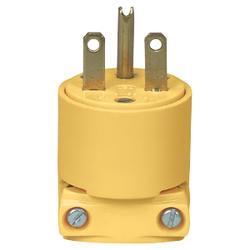 Plug Straight Blade 15A, 250V