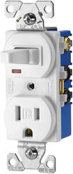 Combination 3 Way Switch and Tamper Resistant Outlet