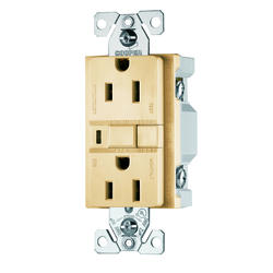 Ivory 15A Ground Fault Circuit Interruptor