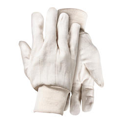 Rugged Wear Canvas Glove - Large