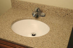 "73"" x 19"" Riverstone™ Quartz Vanity Top - 3CM"