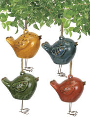 Ceramic Bird Wind Chimes (Assorted Styles)