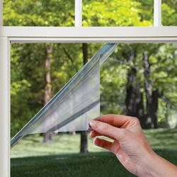 Gila® Platinum Gray Peel and Cling Heat Control Window Film 3' x 6.5'