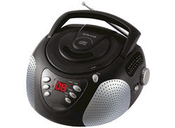 CD Boombox with AM/FM Stereo Radio
