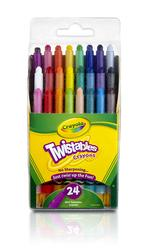 Crayola Crayons 24ct Mini Twist