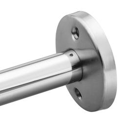 Moen Commercial 5' Rod with Exposed Stainless Steel Flanges