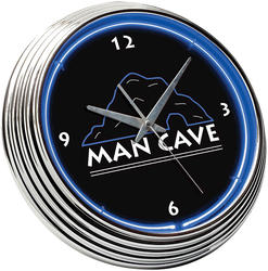 Man Cave Neon Clock
