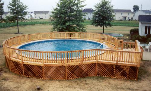 12 39 X 16 39 Pool Deck Building Plans Only At Menards