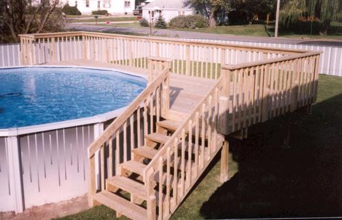 16 39 x 24 39 pool deck building plans only at menards for 24 ft garden pool