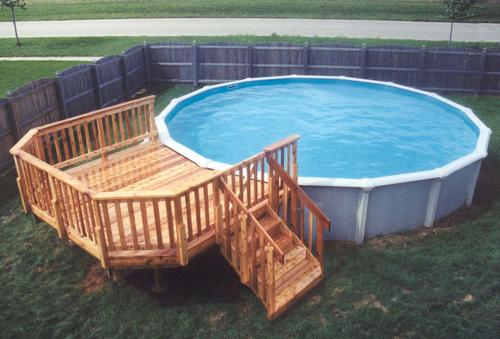 Pool decks plans for Above pool deck plans