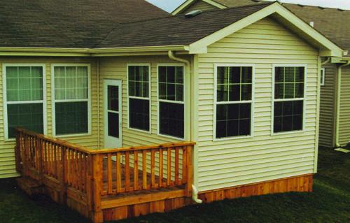 Gabled 3-Season Room - Building Plans Only at Menards