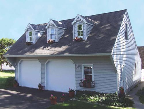 2 car cape cod garage building plans only for Cape cod garage