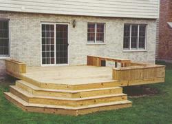 Planter Box Deck - Building Plans Only