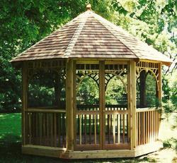 Spacious Country Gazebo - Building Plans Only