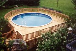 27' x 30' Pool Deck - Building Plans Only