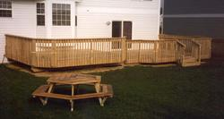 12' x 18' Upper Deck with 12' x 16' Lower Deck - Building Plans Only