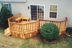 6' x 20' Leisure Deck with Bay - Building Plans