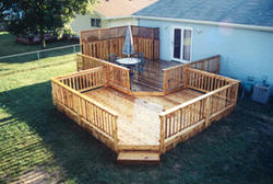 16' x 20' Upper Deck with 16' x 16' Lower Deck - Building Plans Only