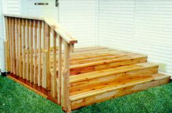 Wide Step Deck - Building Plans Only