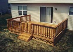 16' x 14' Deck with Gate and Apron - Building Plans Only