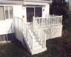 10' x 16' Deck with Lattice Apron - Building Plans Only