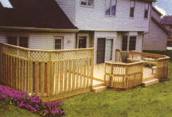 Privacy Deck - Building Plans Only