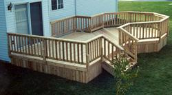 12' x 16' Deck with 10' Octagon - Building Plans Only