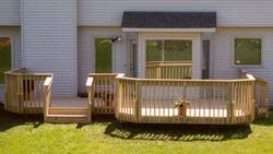 Deck with Entry Area - Building Plans Only