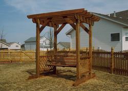 Trellis Arbor Swing - Building Plans Only