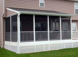 Shed Roof 3-Season Porch - Building Plans Only