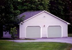 2-Car Gable Garage - Building Plans Only