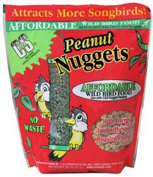 C&S Products Peanut Nuggets Bird Food