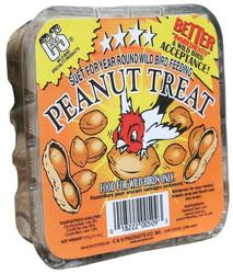 C&S Products Peanut Treat Suet Bird Food