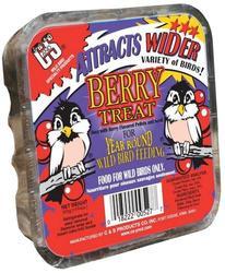 C&S Products Berry Treat Suet Bird Food